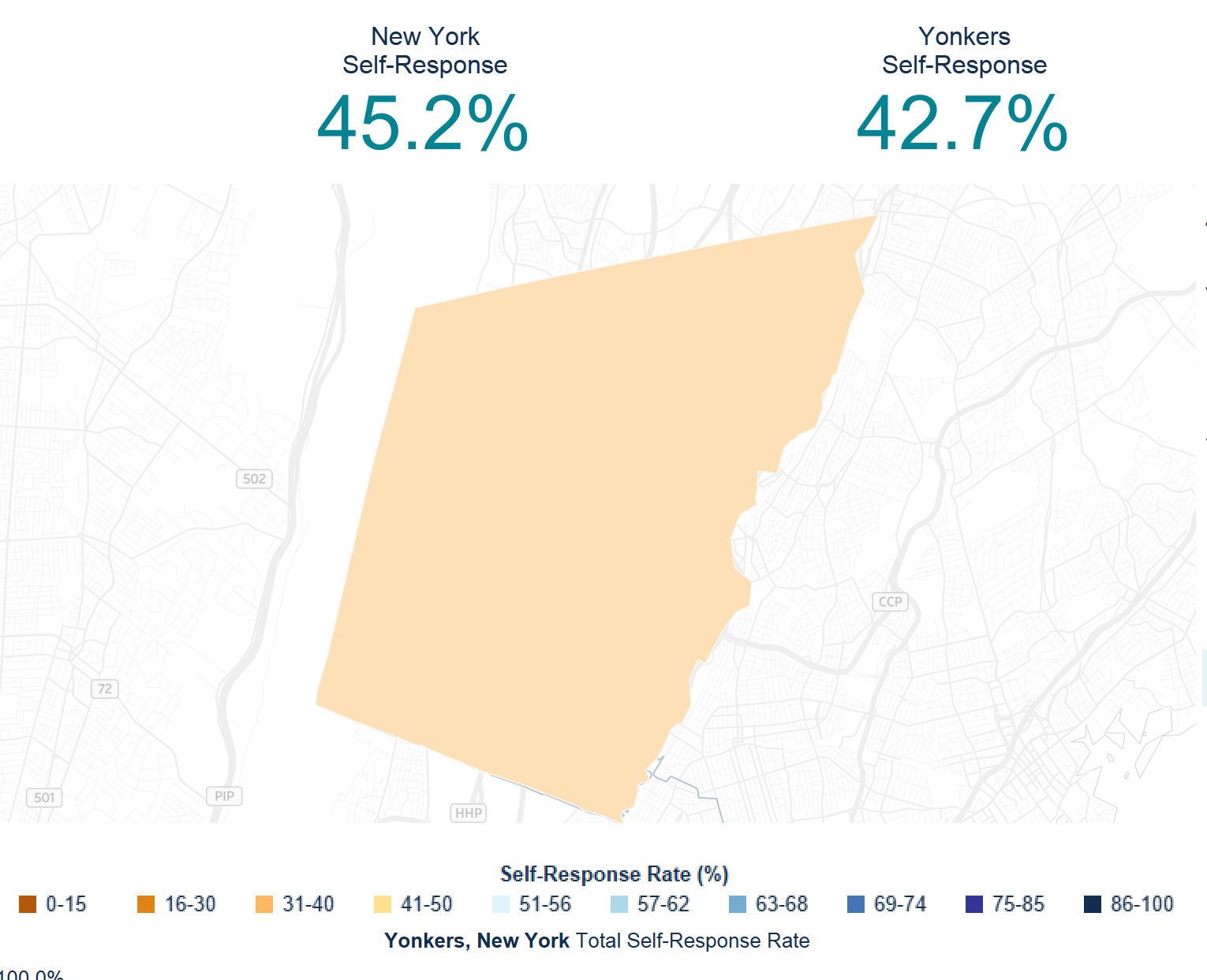 Yonkers and the 2020 Census - April 22nd Update