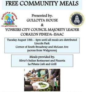 Westchester County Creates Program To Help Local Restaurants Who Are In Need During The Covid-19 Pandemic