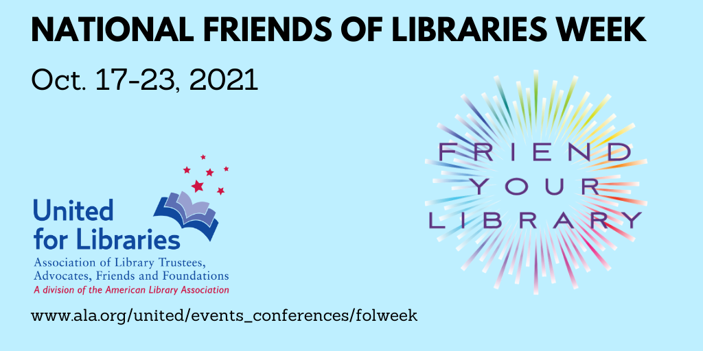 Thank You Friends of the Library!