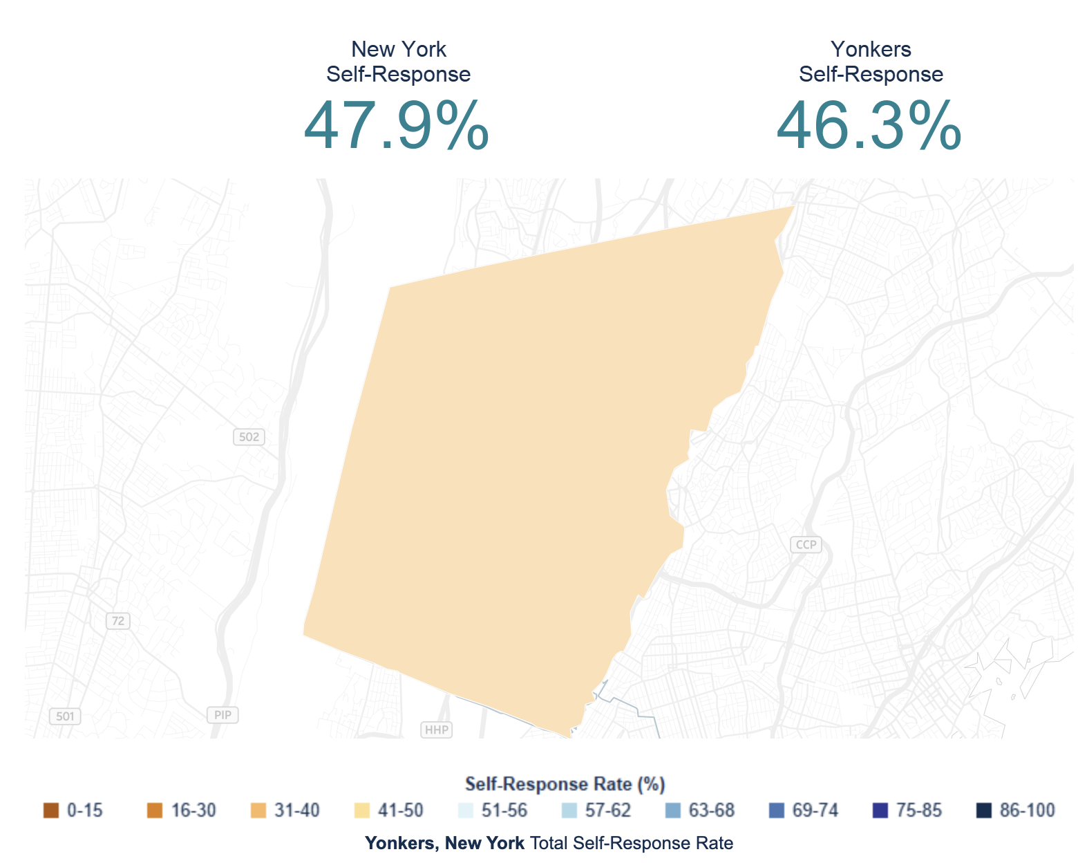 Yonkers and the 2020 Census – April 29th Update