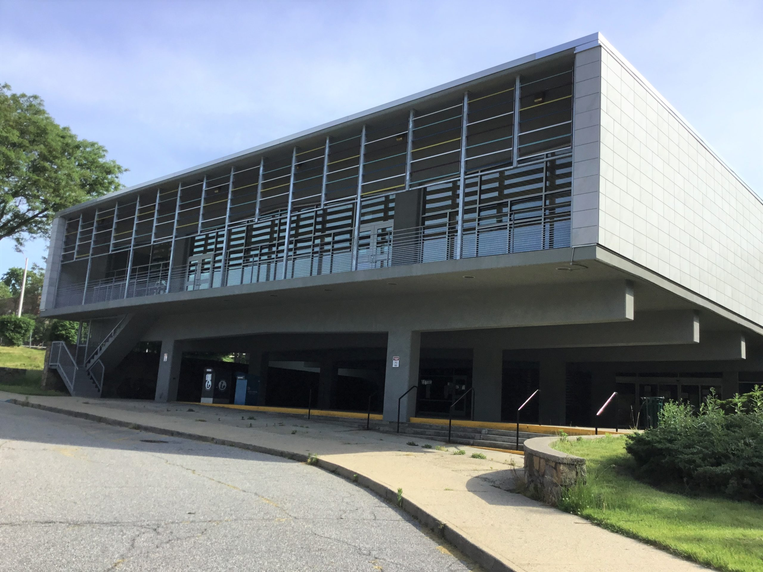 Exterior of Will Library
